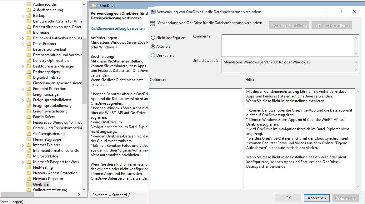 richtige proxy einstellungen windows 10