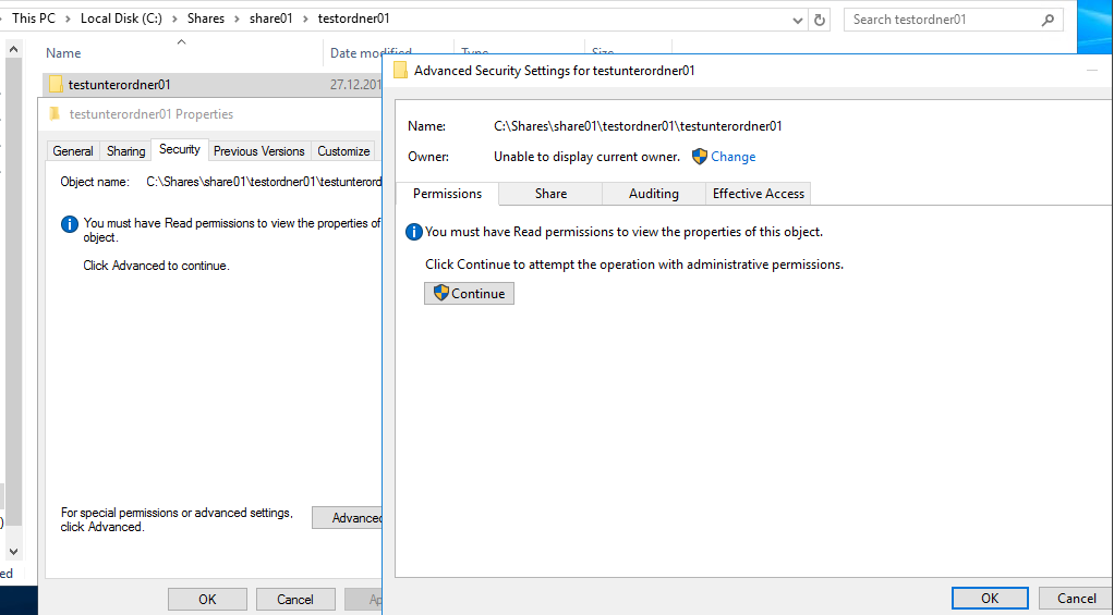 Folder owner should not be able to change permissions