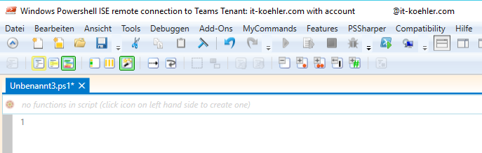 Microsoft Teams mit Powershell / ISE verwalten (team templates und ...