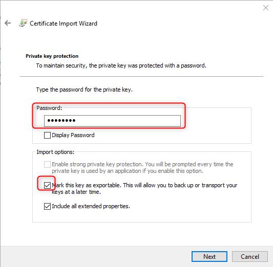 Windows Admin Center 1809 install and distribute selfsigned