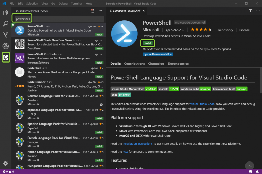 From Powershell ISE to VSCode    give it a try! - it-koehler-blog